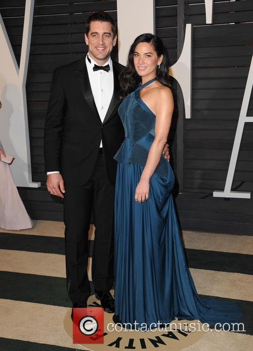 Aaron Rodger and Olivia Munn 2