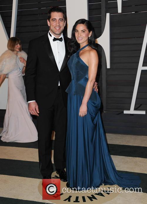Aaron Rodger and Olivia Munn 1