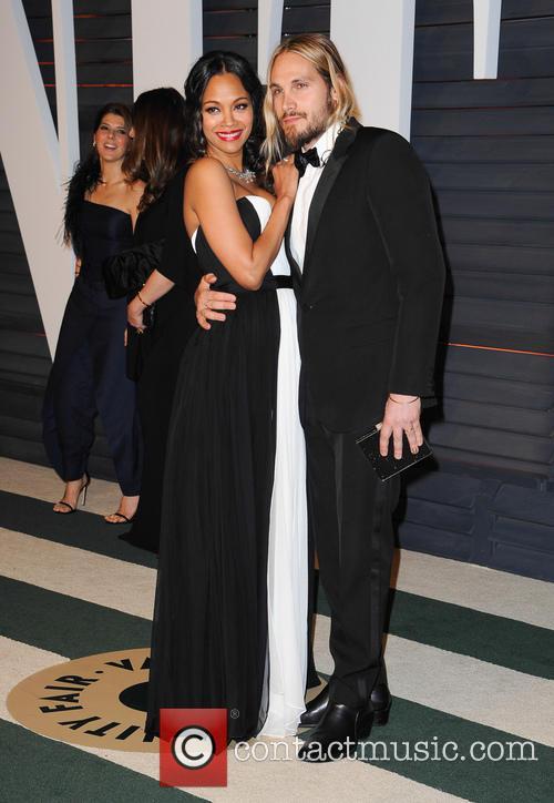 Zoe Saldana and Marco Perego 9