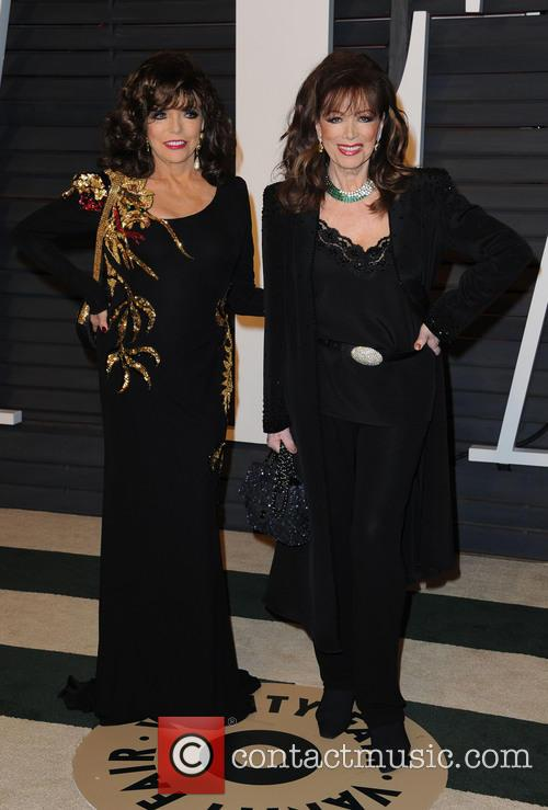 Joan Collins and Jackie Collins 2