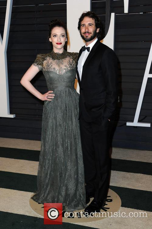 Kat Dennings and Josh Groban 2