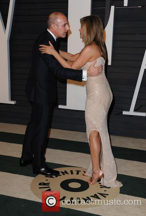 Matt Lauer and Jennifer Aniston 2