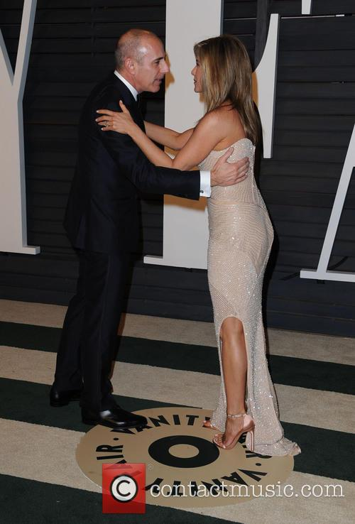 Matt Lauer and Jennifer Aniston 3
