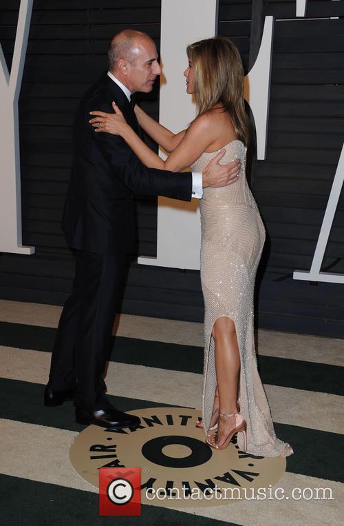 Matt Lauer and Jennifer Aniston 4