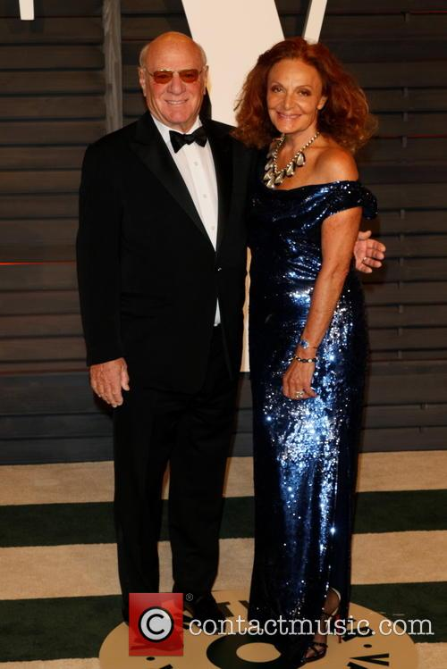 Diane Von Furstenberg and Barry Diller 1
