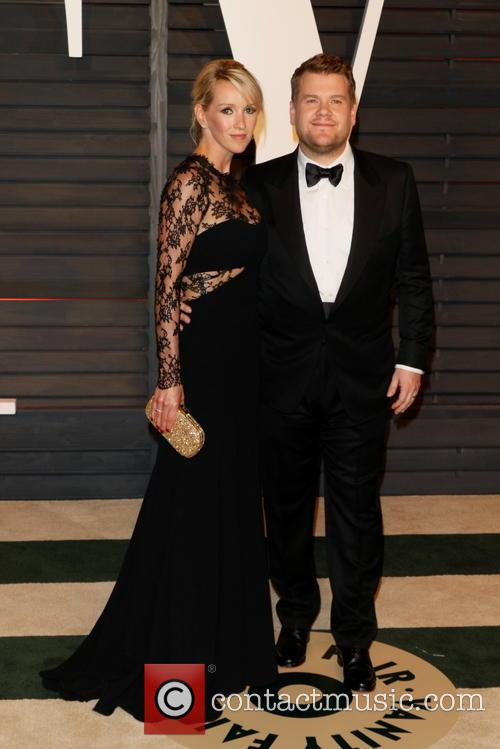 James Corden Julia Carey