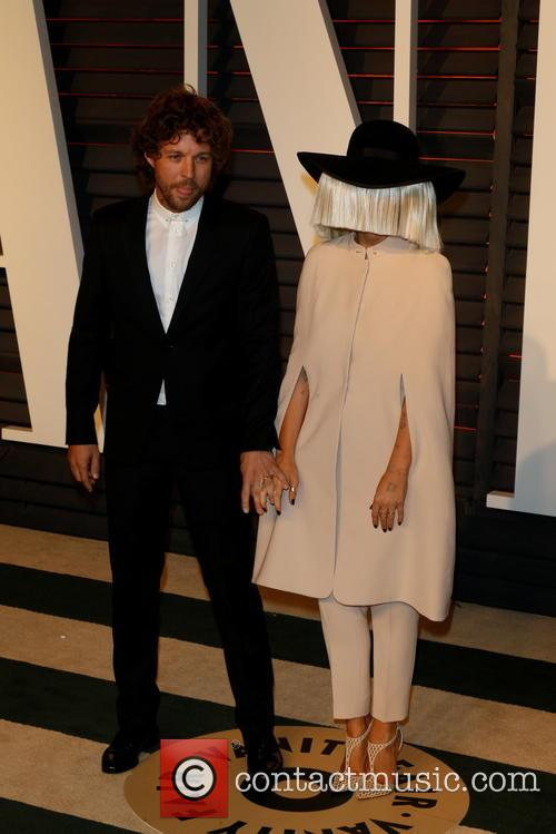 Sia, Producer Erik Anders Lang and Vanity Fair