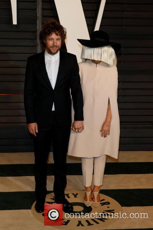 Sia, Producer Erik Anders Lang and Vanity Fair 4