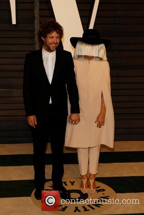 Sia, Producer Erik Anders Lang and Vanity Fair 1