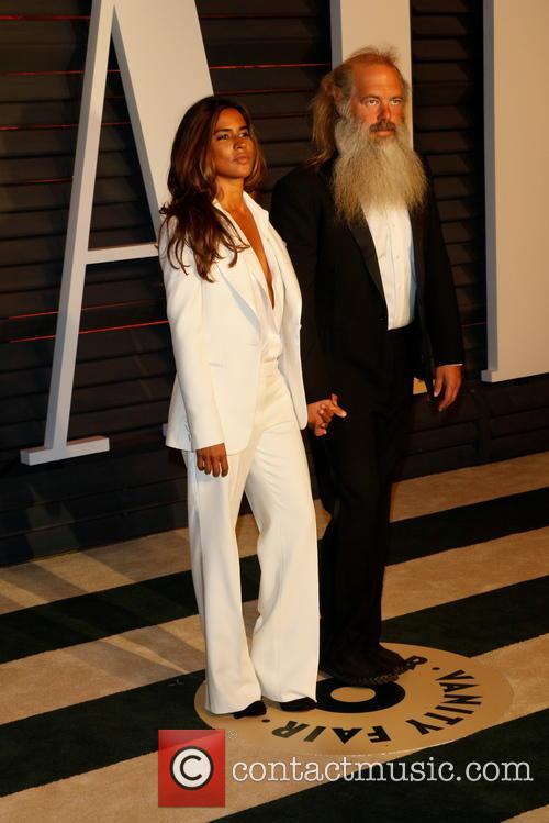 Rick Rubin and Mourielle Herrera 1