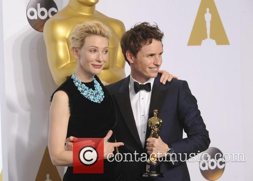 Cate Blanchett and Eddie Redmayne 2