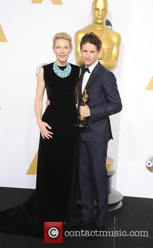 Cate Blanchett and Eddie Redmayne 3