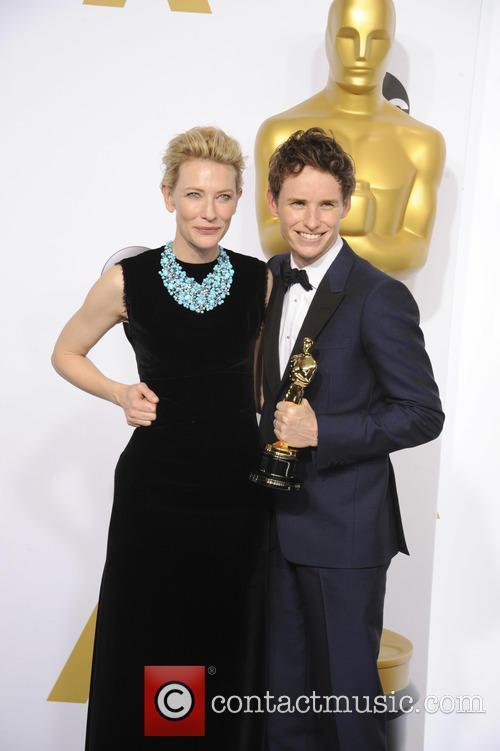 Cate Blanchett and Eddie Redmayne 1
