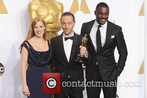 Emmanuel Lubezki, Jessica Chastain and Idris Elba 2