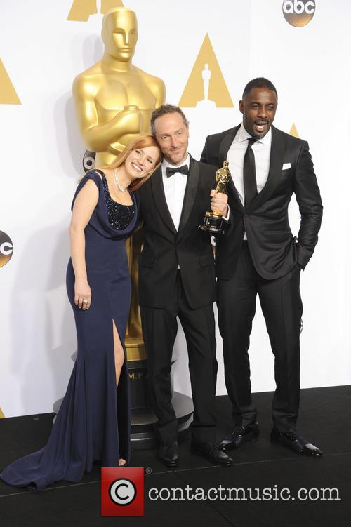 Emmanuel Lubezki, Jessica Chastain and Idris Elba 1
