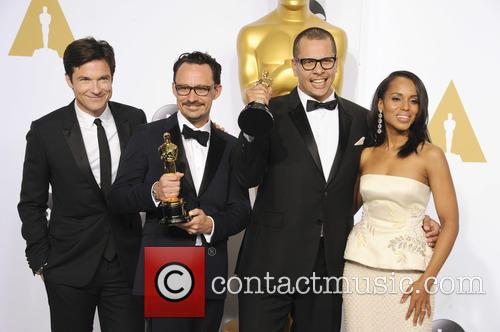 James Lucas, Mat Kirby, Jason Bateman and Kerry Washington