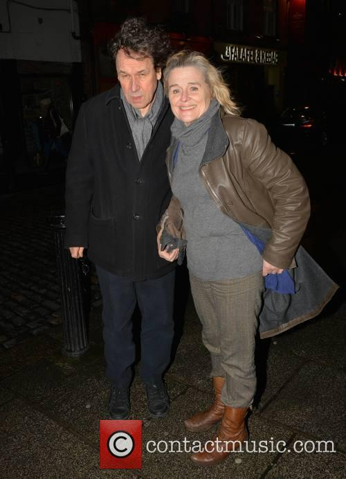 Stephen Rea and Sinead Cusack 1