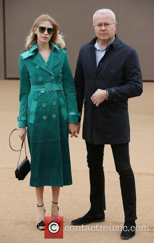 Elena Perminova and Alexander Lebedev