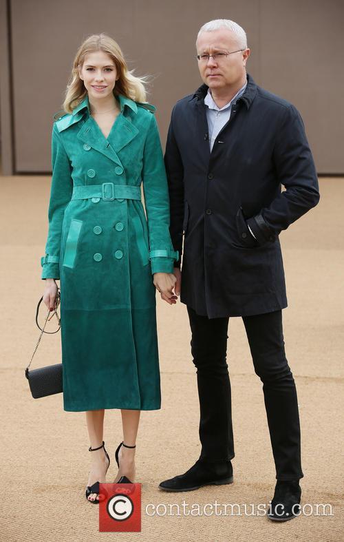 Elena Perminova and Alexander Lebedev 6
