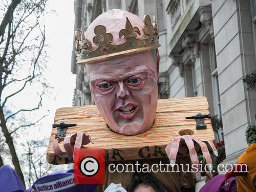 View and Chris Grayling Puppet 3