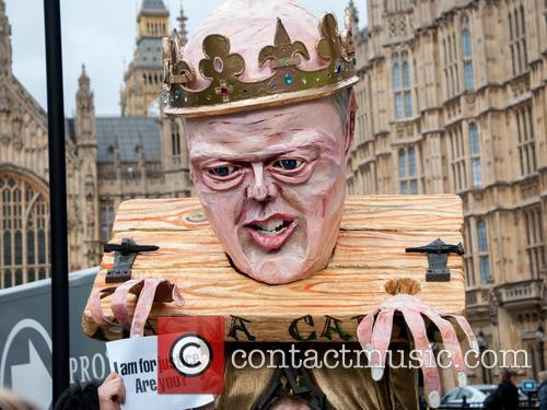 View and Chris Grayling Puppet 1