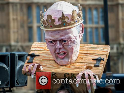View and Chris Grayling Puppet 9