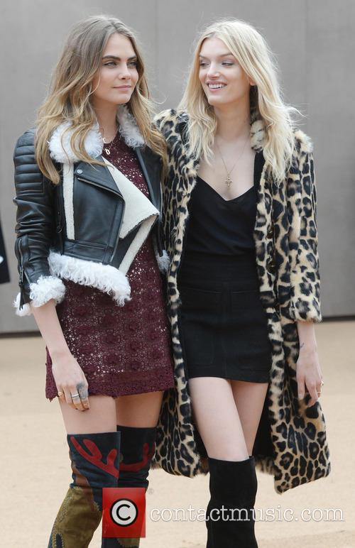Cara Delevingne and Lily Donaldson 9