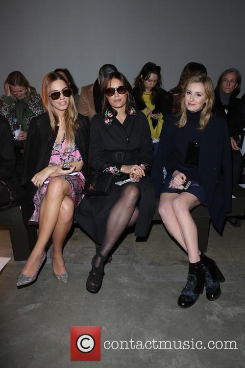 Amber Le Bon, Yasmin Le Bon and Laura Carmichael 2