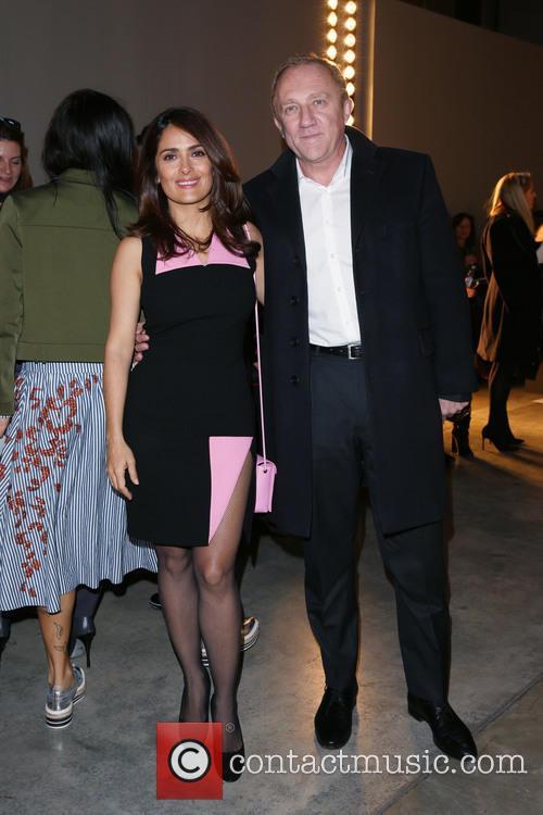 Salma Hayek and Husband François-henri Pinault 3