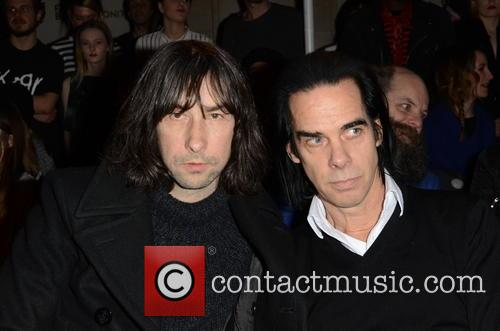 Bobbie Gillespie and Nick Cave 7