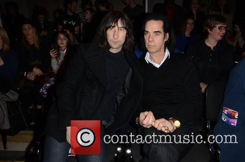 Bobbie Gillespie and Nick Cave 8