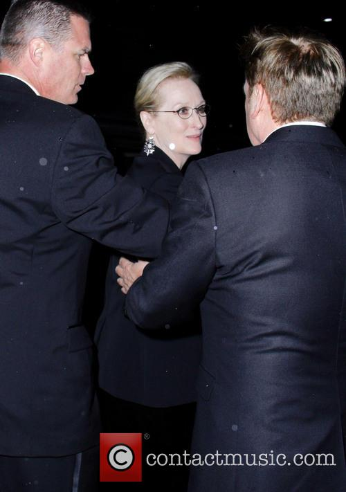 Meryl Streep and Don Gummer at The Palm