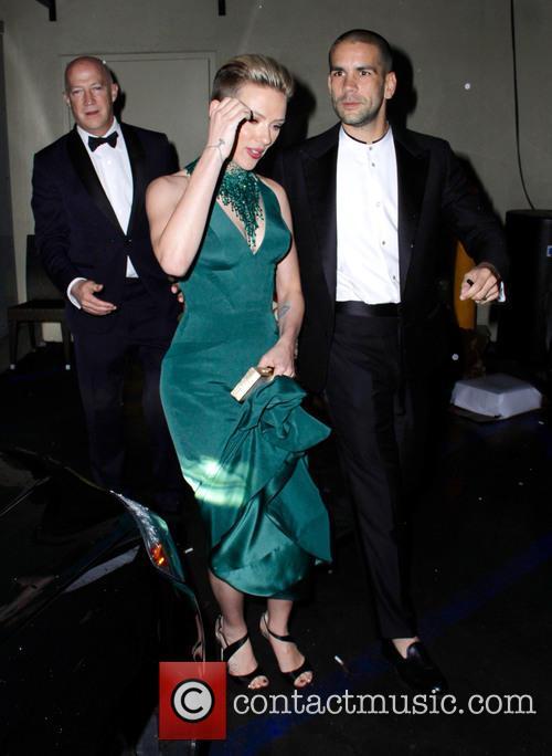 Scarlett Johansson and Romain Duriac 4