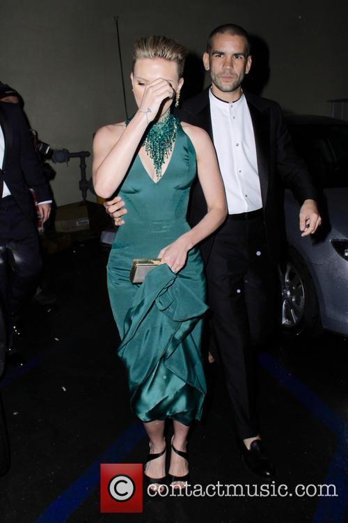 Scarlett Johansson and Romain Duriac 5