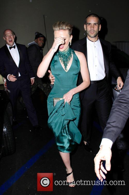Scarlett Johansson and Romain Duriac 6