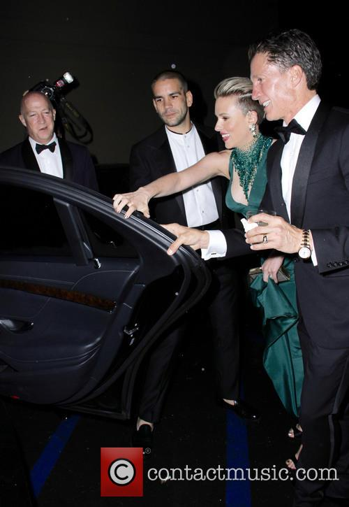 Scarlett Johansson and Romain Duriac 8