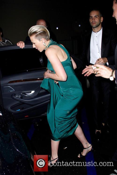 Scarlett Johansson and Romain Duriac 9