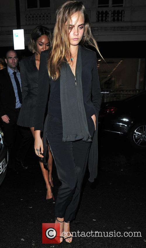 Supermodels dining out at Mr Chow