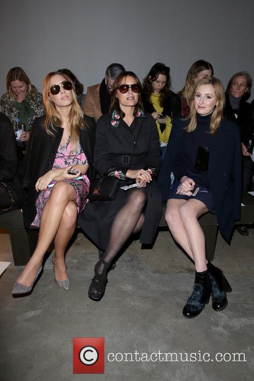 Amber Le Bon, Yasmin Le Bon and Laura Carmichael 8