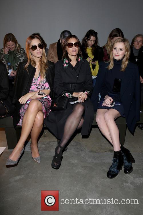 Amber Le Bon, Yasmin Le Bon and Laura Carmichael 1