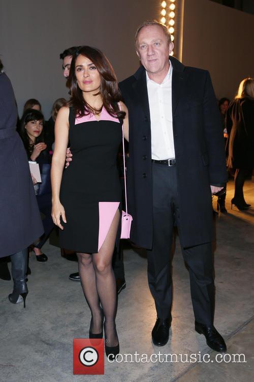 Salma Hayek and François-henri Pinault 9