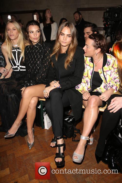 Lady Mary Charteris, Emily Ratajkowski, Cara Delevingne and Jaime Winstone 1