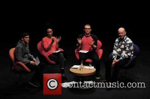 Ricky Martin, Michelle Ackerley, Richard Wisker and Nick Sharratt