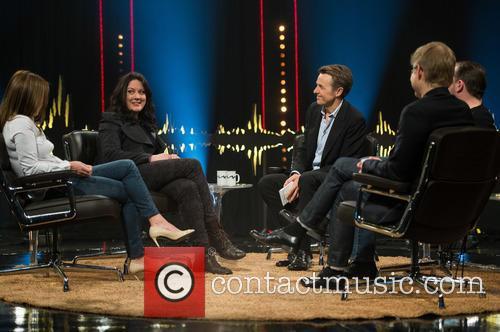 Geri Halliwell, Helen Macdonald, Fredrik Skavlan, Ricky Gervais and Magnus Falkehed 9
