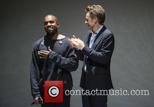 Kanye West and Fredrik Skavlan 2