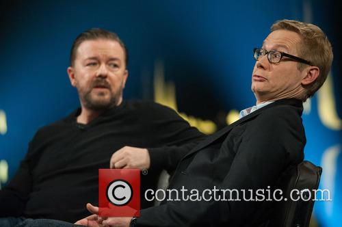 Ricky Gervais and Magnus Falkehed 3