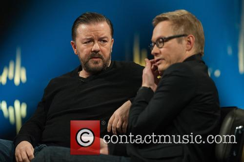 Ricky Gervais and Magnus Falkehed 4