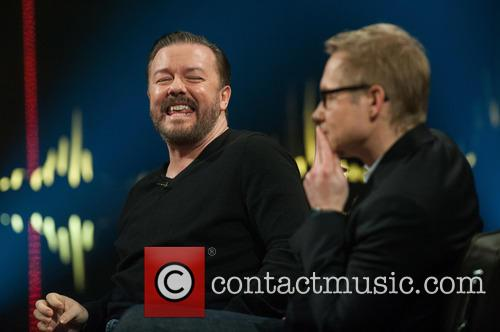 Ricky Gervais and Magnus Falkehed 5