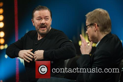 Ricky Gervais and Magnus Falkehed 6