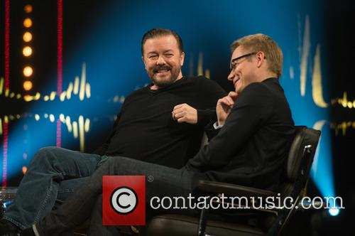 Ricky Gervais and Magnus Falkehed 1